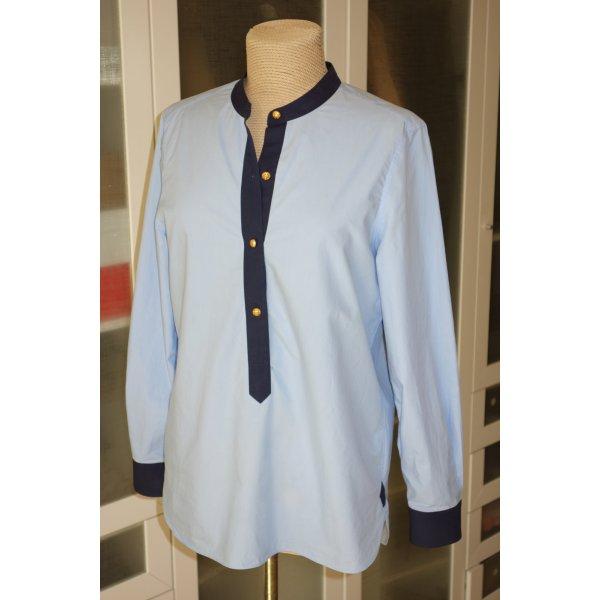 Org. TORY BURCH Tunika Bluse in blau Gr.38