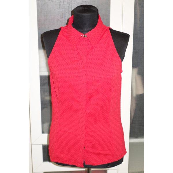 Versace Blusa senza maniche rosso