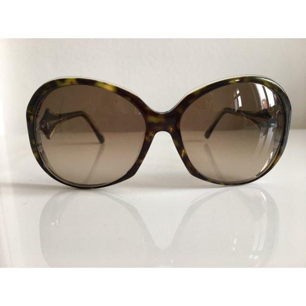 Orig. Emilio PUCCI Logo Sonnenbrille Brille gold /silber mit Case