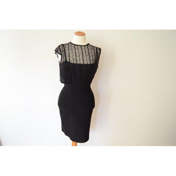 Gucci Stretch jurk zwart Viscose