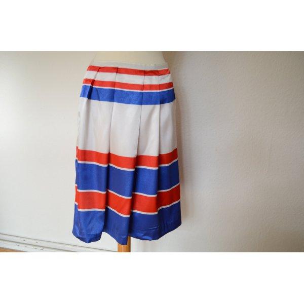 Orig. PRADA Couture Tricolore Rock IT 42 D 36 ausgestellt französische Nationalfarben
