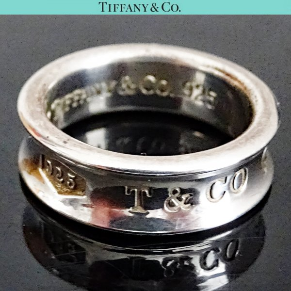 ORIG. TIFFANY & Co. 1837 RING 925 Sterling Silber EU54 US6.8 / GUTER ZUSTAND