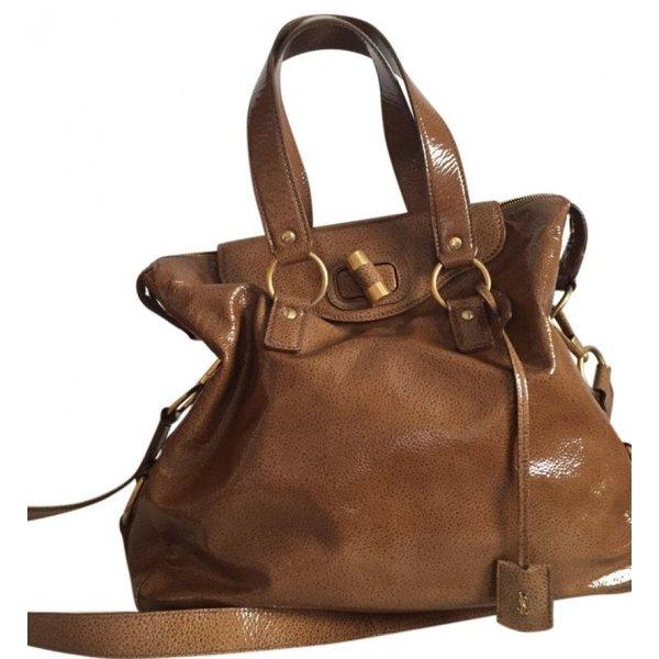 Orig. YSL Yves Saint Laurent Rive Gauche Messenger Bag Muse Tasche cross body leder