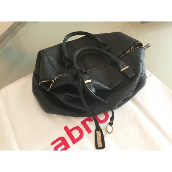 abro Carry Bag black leather