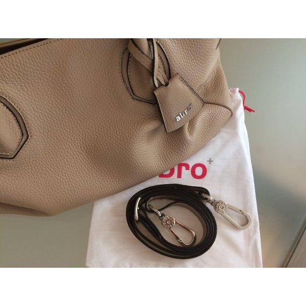Original abro Tasche Komplett aus Leder