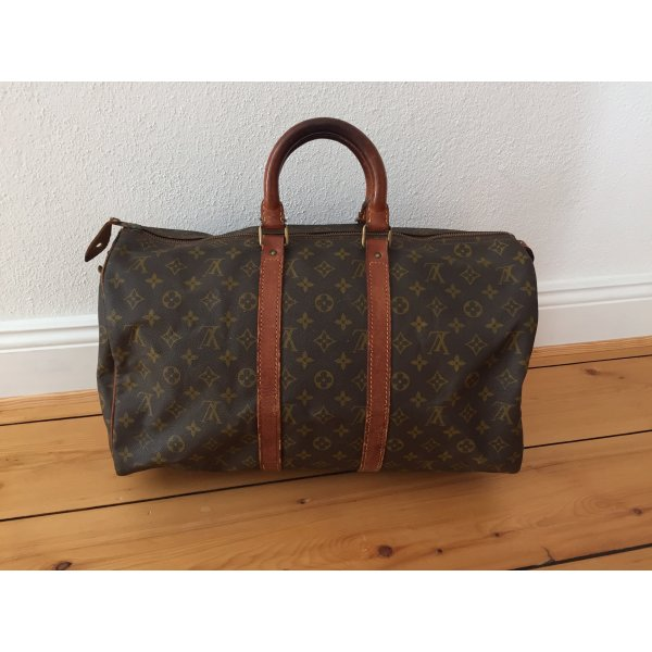 Original alte Louis Vuitton Vintage Keepall 45