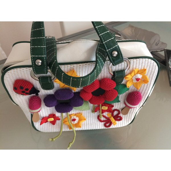 Carry Bag multicolored mixture fibre