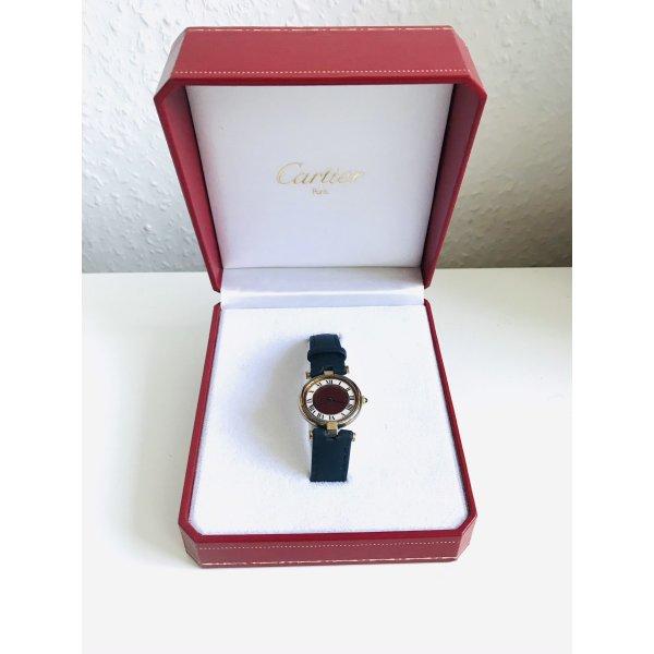 Original Cartier Vermeil Uhr inkl. Box bis Sonntag