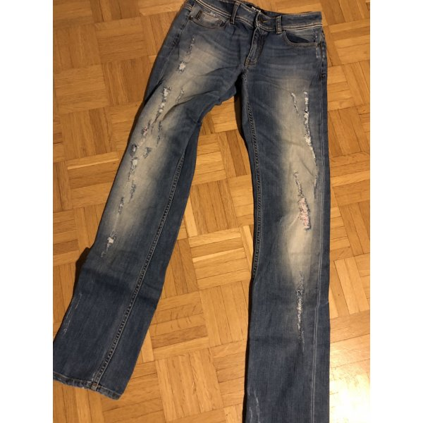 Original Cavalli Jeans Slimfit destroyed Gr W26 top