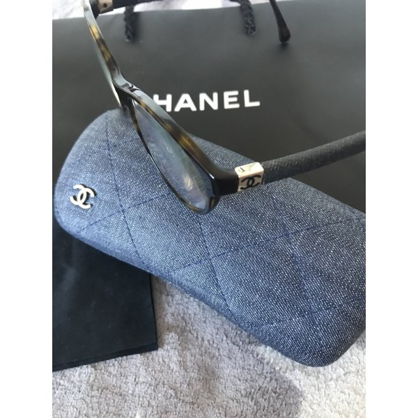 Original Chanel Brillengestell braun mit Jeans 329€ Modell 3192