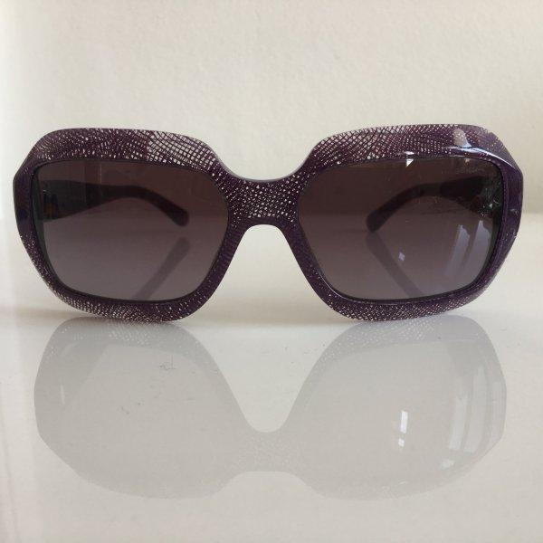 Original Chanel Sonnenbrille Cat Eye Purple Spitzenoptik toller Effekt