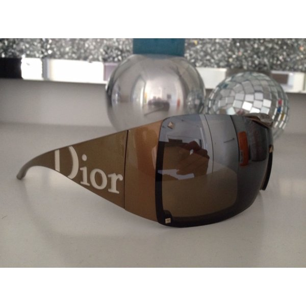 Christian Dior Glasses gold-colored-light brown