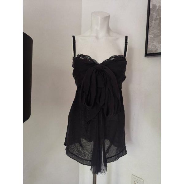 Original Dolce & Gabbana Nachthemd Negligee Spitze Gr S schwarz