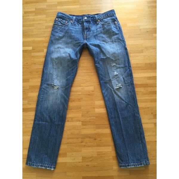 Original Levi's 501 CT destroyed W28 L34 Boyfriend Jeans
