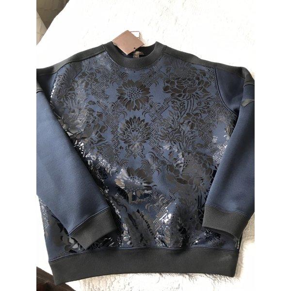 Original Louis Vuitton Pullover Sweatshirt Navy schwarz M