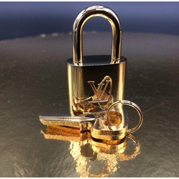 Original Louis Vuitton Schloss, mit 2 Schlüsseln No. 313 Metall Messing