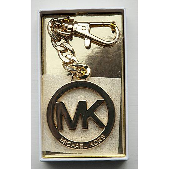original michael kors mk anh nger mit karabiner gold. Black Bedroom Furniture Sets. Home Design Ideas