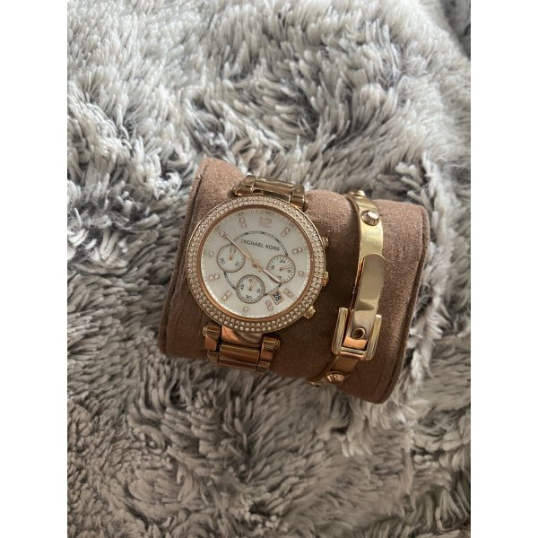 Original Michael Kors Uhr & passendes Armband