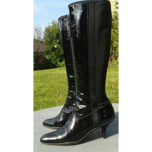 Original Prada Stiefel in schwarz Gr. 40