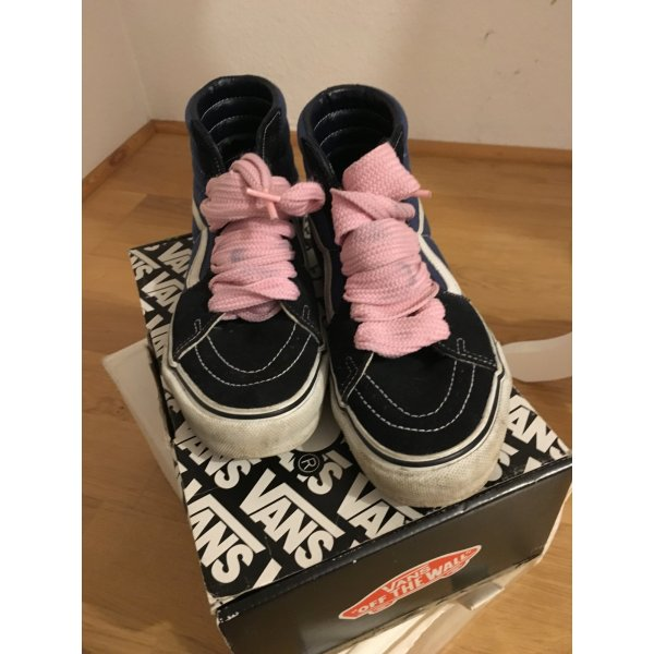 Original Vans SK8 Sneakers High Top Girl in original Karton