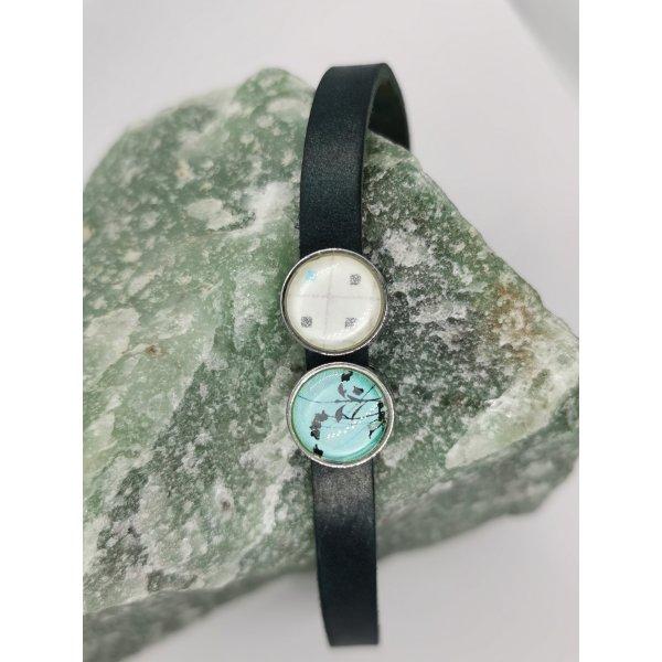 Original Vintage Hippie Echtleder Armband