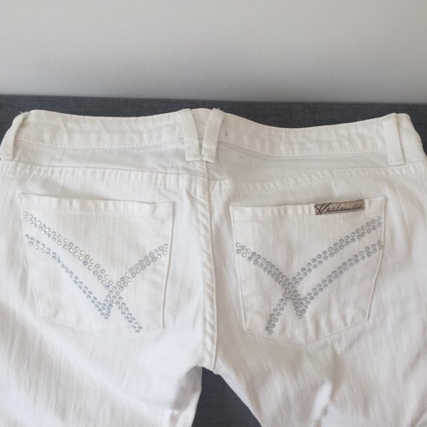 Original William Rast Skinny Jeans, Größe 27