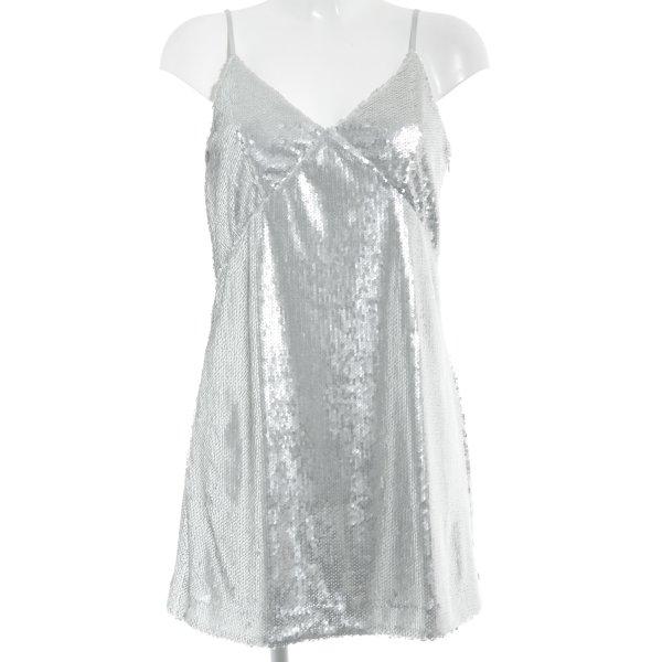 Orsay Abito con paillettes argento elegante