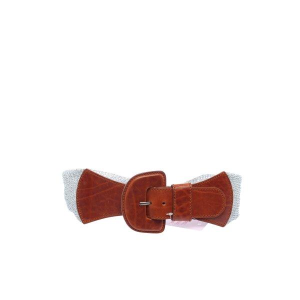 Orwell Taillengürtel silberfarben-braun Casual-Look