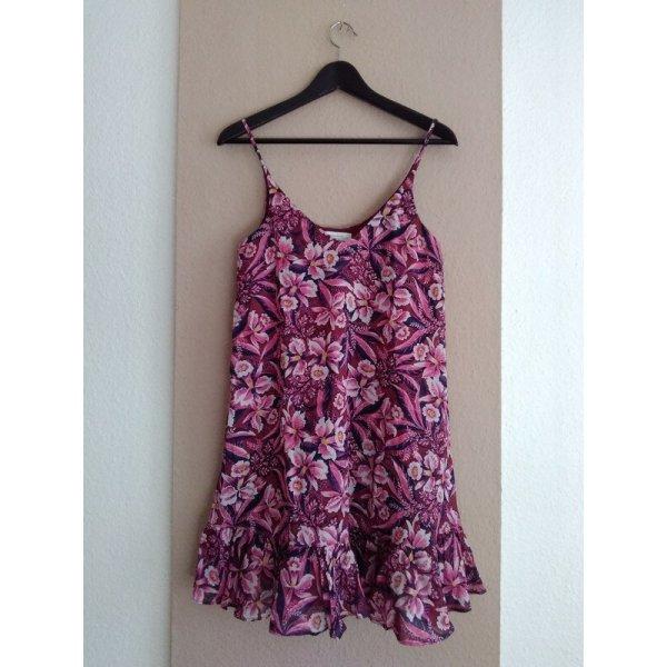 & Other Stories hübsches geblümtes Minikleid in lila Grösse S