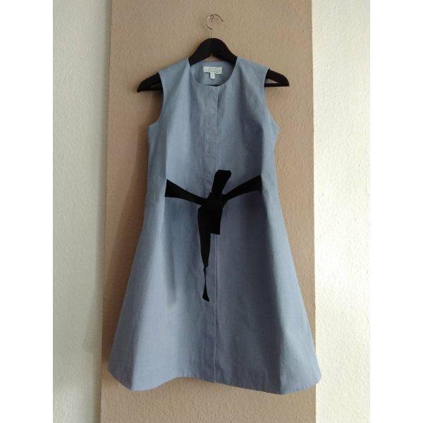 & Other Stories hübsches Minikleid in hellblau aus 97% Baumwolle, Grösse XS