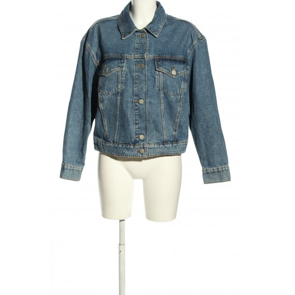 & other stories Jeansjacke blau Casual-Look