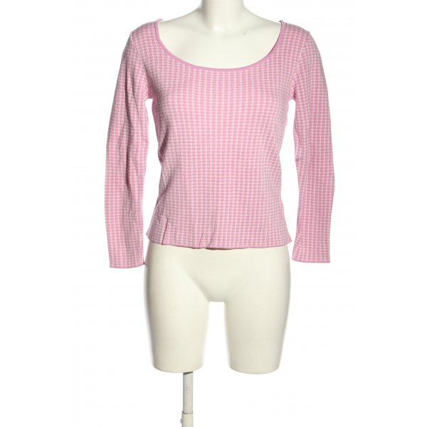 & other stories Longsleeve pink-wollweiß Casual-Look