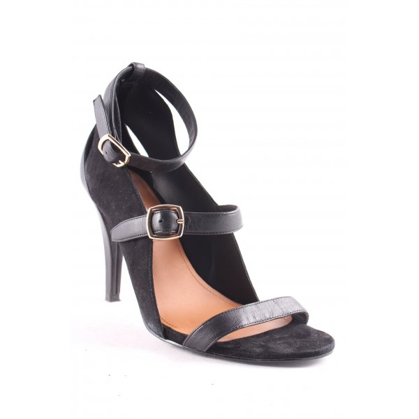 & other stories Strapped High-Heeled Sandals black street-fashion look