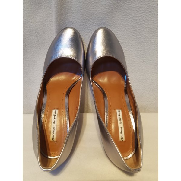 & other stories... Sexy High Heels in silber, Größe 39