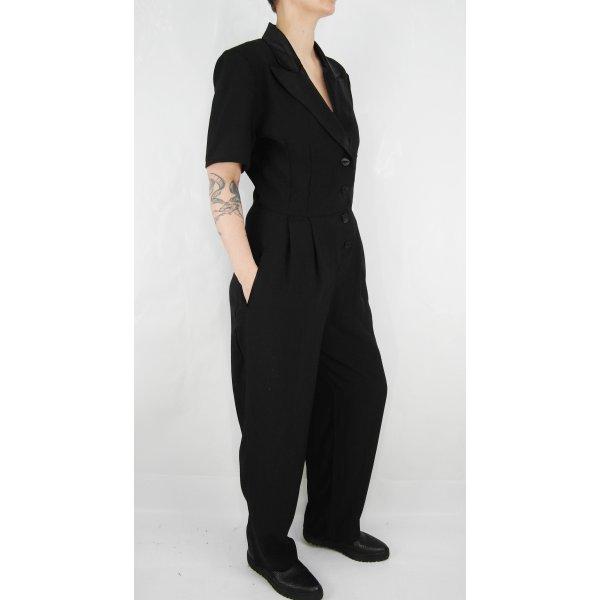Overall Gr. S Jumpsuit Playsuit schwarz