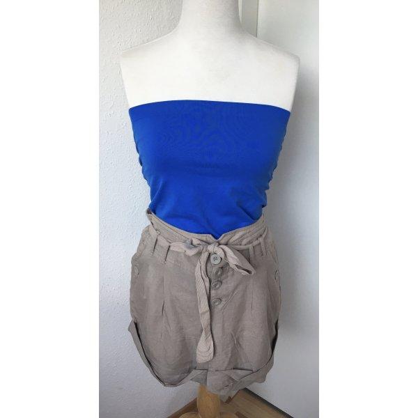 Paperbag Shorts + Tube Top