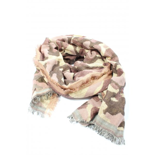 Passigatti Knitted Scarf multicolored casual look