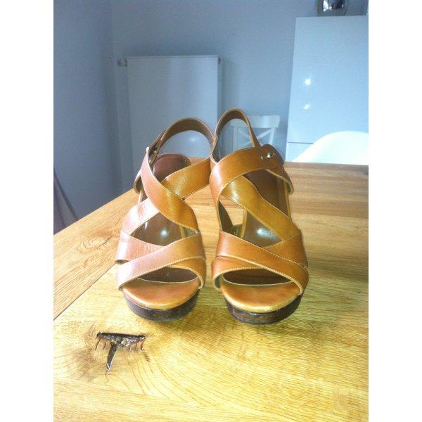Patrizia Pepe Sandaletten mit Holzplateau