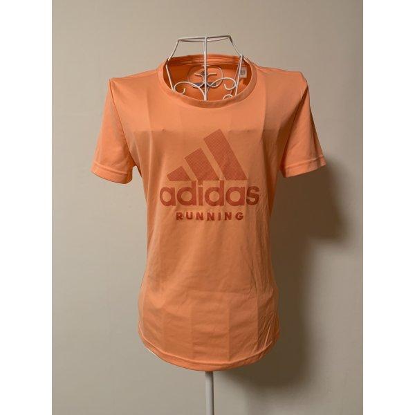 Peachfarbenes Sport T-Shirt
