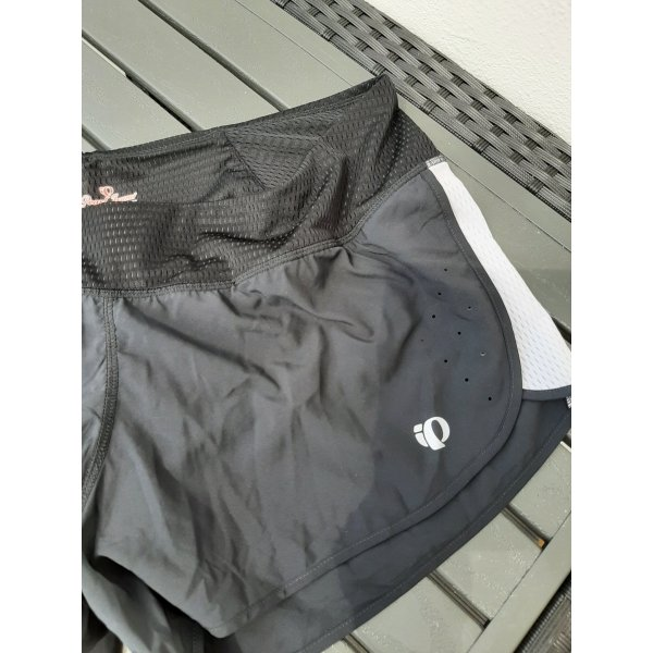 Pearl izumi LHK Laufhose Shorts Fitnesshose schwarz mit weiß L