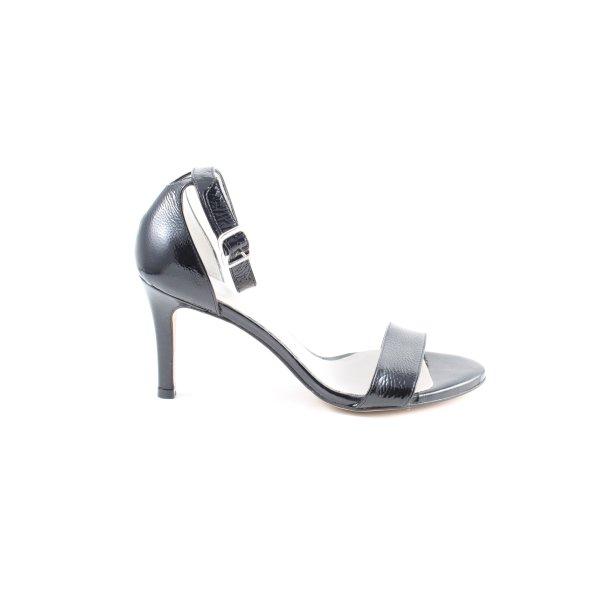 Pedro Miralles High Heel Sandaletten schwarz Casual-Look