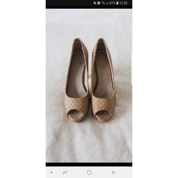 Peep-toe High Heels