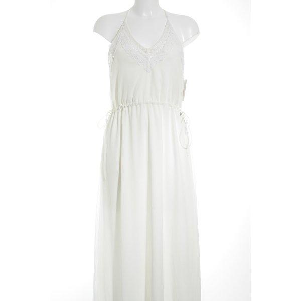 Pepe Jeans Abendkleid wollweiß Elegant