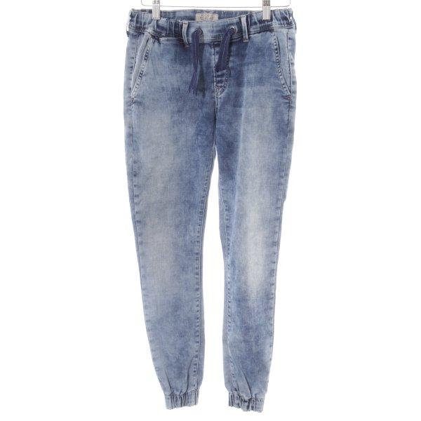 Pepe Jeans Karottenjeans stahlblau Casual-Look