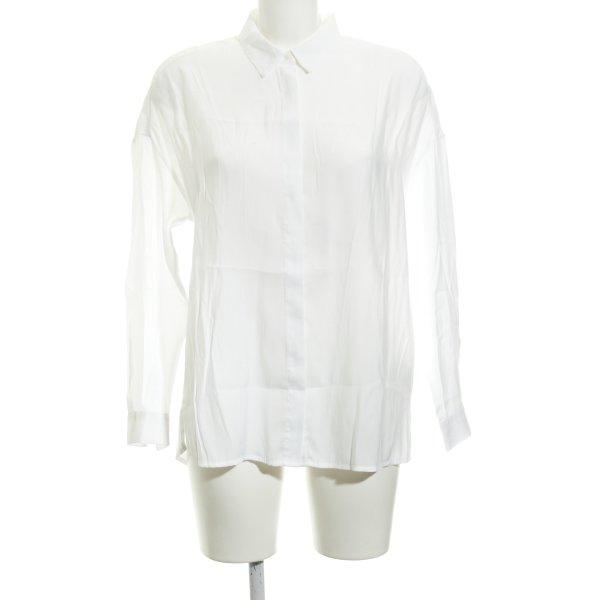 Pepe Jeans Langarm-Bluse weiß Casual-Look