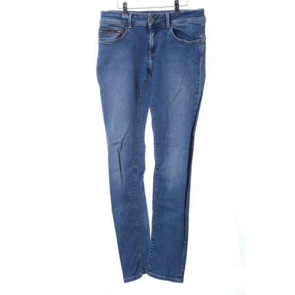 Pepe Jeans London Slim Jeans blau Casual-Look