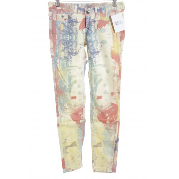 Pepe Jeans Skinny Jeans abstraktes Muster Casual-Look