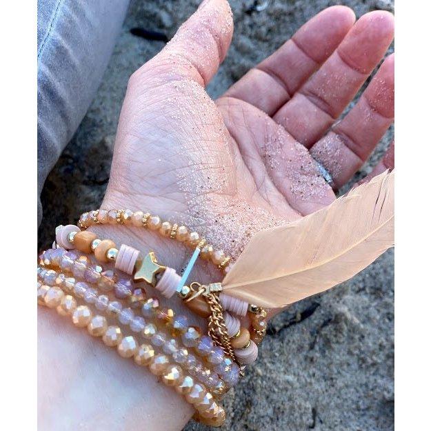 Perlen Armband Strandliebe