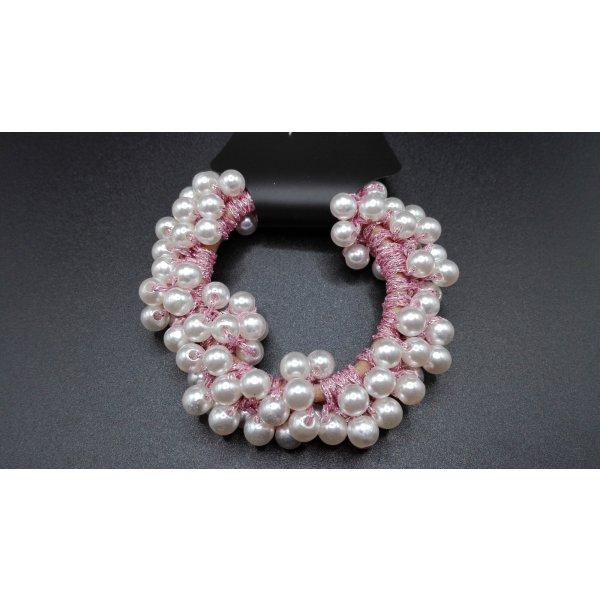 Perlen Haargummi