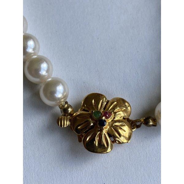 Perlen Halskette vintage top Zustand